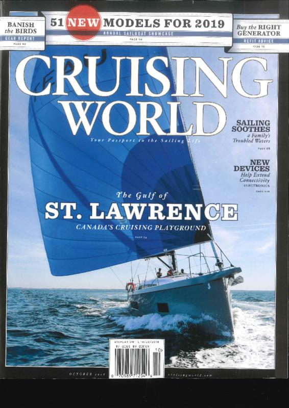 Dufour 360 / 390 / 430 Test review in Cruising World magazine