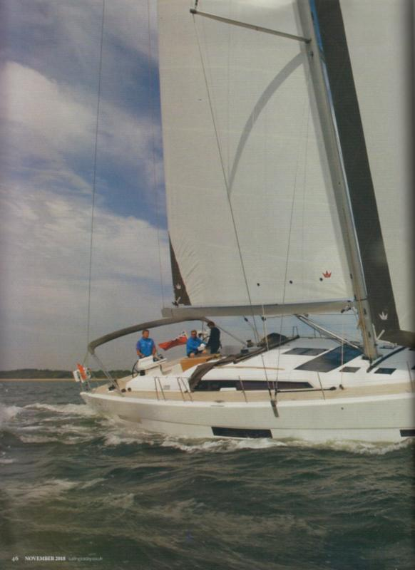 Test review Dufour 56 by Sailing Today - Nov 2018