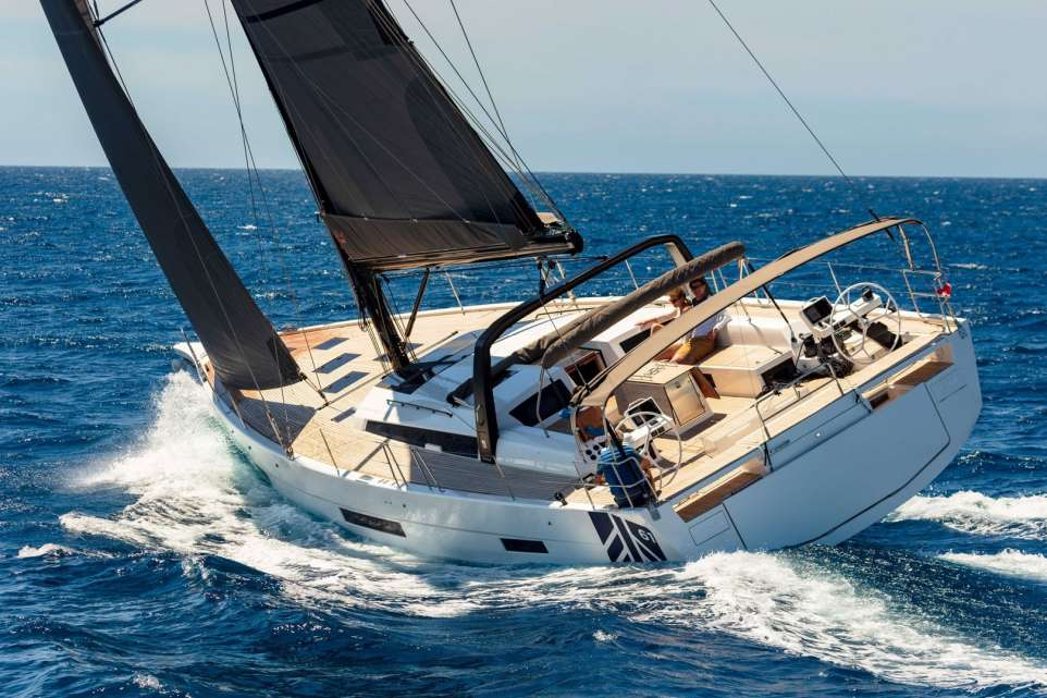 DUFOUR 61 sailing yacht for sale in the Caribbean